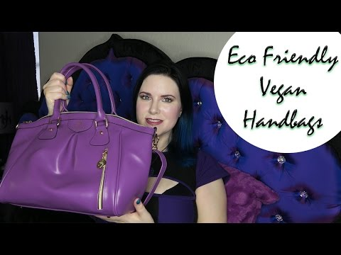 Animal Friendly Eco Friendly Vegan Handbags, Gunas, Urban Junket, & More | Whats In My Bag | Phyrra