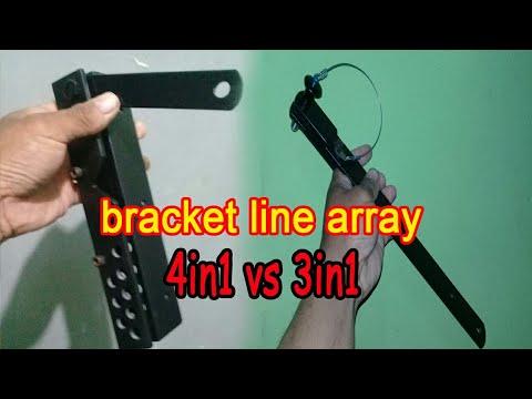 bracket line array 4in1 vs 3in1
