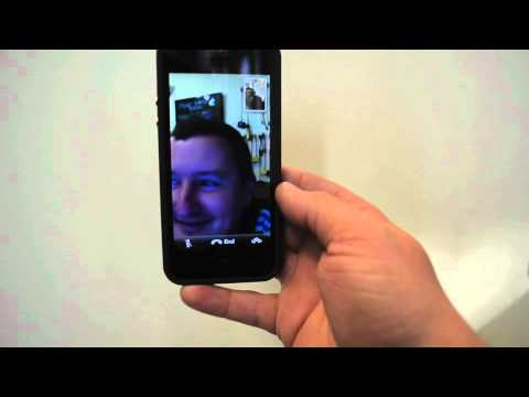 apple iphone 5 FaceTime over the 3g on EE network