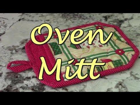 How to Make an Oven Mitt (A)