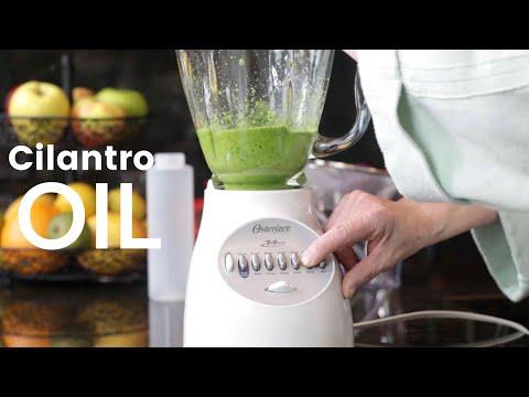How To Make Cilantro Oil