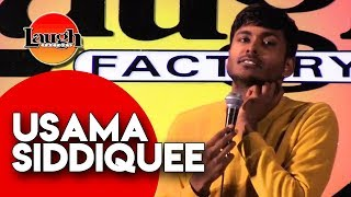 Usama Siddiquee | Former Model Muslim | Laugh Factory Chicago Stand Up Comedy