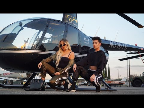 GET READY WITH US IN OUR HELICOPTER (ft. Tana Mongeau)