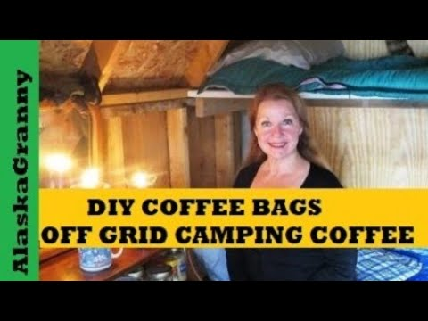 DIY Coffee Pods Bags For Camping