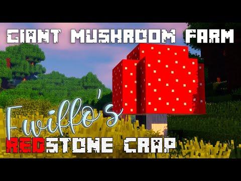 Giant Red Mushroom Farm