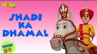 Shadi Ka Dhamal - Motu Patlu in Hindi - 3D Animation Cartoon for Kids -As seen on Nickelodeon