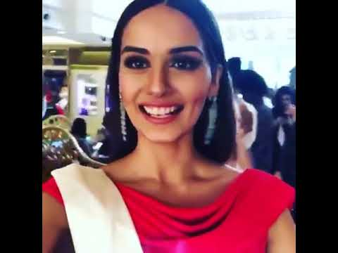 manushi chhillar Miss world 2017 Best speech
