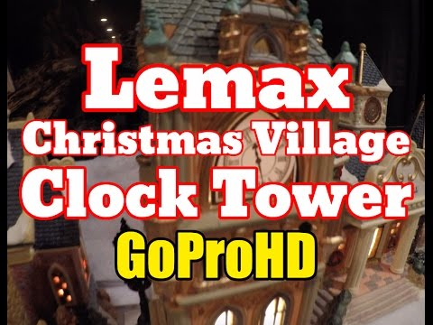 Lemax Christmas Clock Tower New (GoPro HD) - Clock Tower Lemax