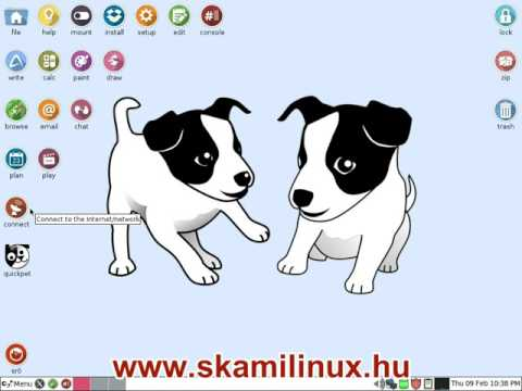 Puppy linux wifi - windows driver