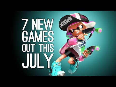 7 New Games in July 2017 for PS4, Xbox One, Switch, PC