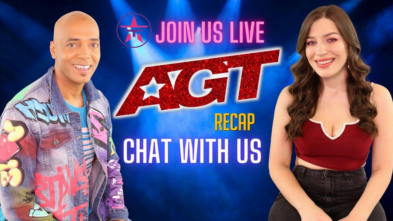 America's Got Talent Stars Chat with Talent Recap LIVE!
