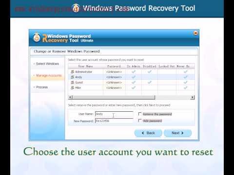 How to Reset Asus Laptop on Windows 10/8.1/8/7/Vista/XP Password If Forgot?