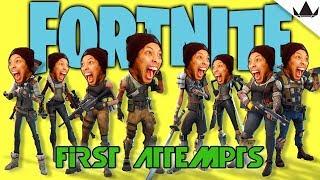 Newb Plays Fortnite | First Attempts