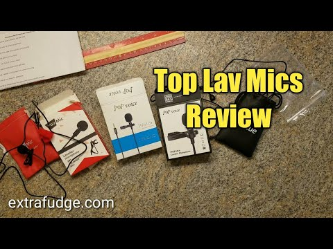 Compare and Test 4 top selling Smartphones Lav Mics (Indoor Test)