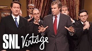 Decision 2000 with Bush and Gore Cold Open - SNL