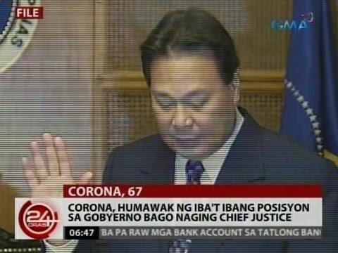 24 Oras: Dating CJ Renato Corona, pumanaw dahil sa cardiac arrest
