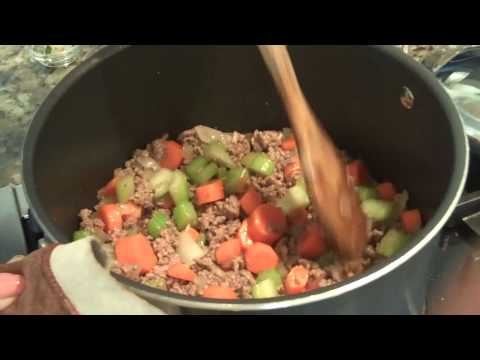 Beef Vegetable Soup - Quick & Easy