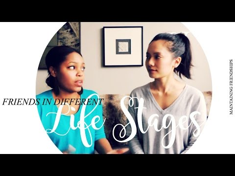 FRIENDS IN DIFFERENT LIFE STAGES  | Talk #2 - Maintaining Friendships