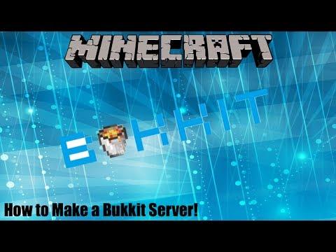 HOW TO MAKE A BUKKIT SERVER (MAC)!! | Tutorial Series