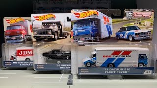 Lamley Showcase: Hot Wheels Team Transport Mix C (bre, Jdm-l, & Bhl)