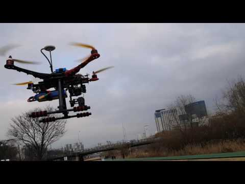 My First DIY Drone S500 With JIYI P2 FC