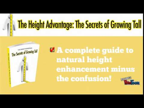 The Secrets of Growing Tall