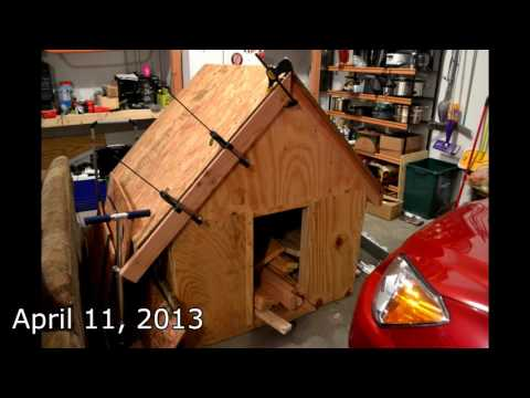 Building Dog House Time Lapse