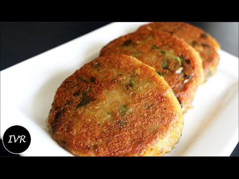 Aloo Tikki Recipe | Fried Potato Patties / Fritters |   Aloo Ki Tikki - Street Food of India