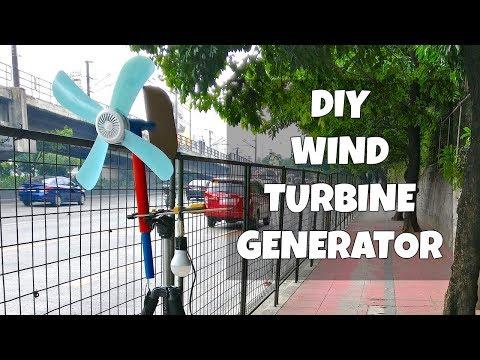 DIY Wind Turbine Power Generator