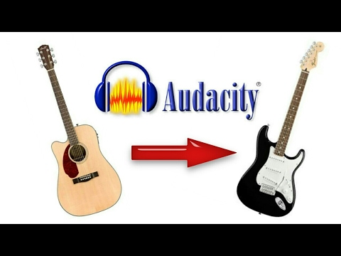 How to add distortion to acoustic guitar using Audacity