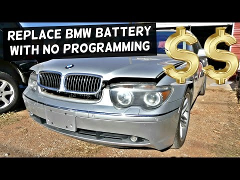 How to Replace BMW BATTERY without PROGRAMMING