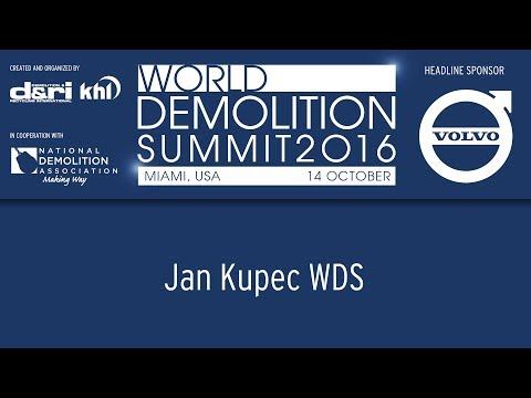 World Demolition Summit 2016 – Dr Jan Kupec
