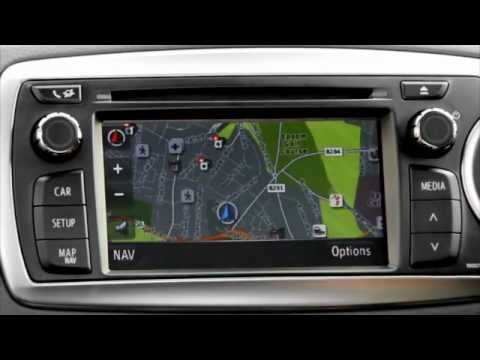 Toyota Touch & Go - How to use Sat Nav features