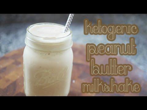 Ketogenic Peanut Butter Milkshake | LOW CARB