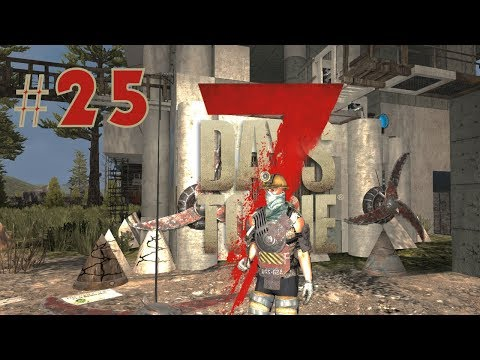 7 Days to die   Ang underground passage #25 (TAGALOG)