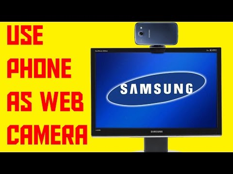 How To Use Phone As Web Camera