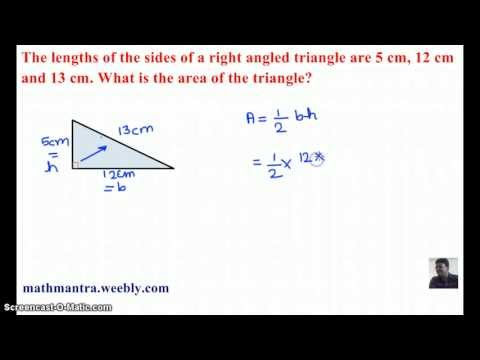 AREA OF TRIANGLE VIDEO 7