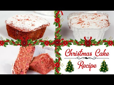 Christmas Cake Recipe Best Moist Simple Easy Eggless Christmas Fruit Idea क्रिसमस फ्रूट केक रेस