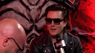 Synyster Gates: Interview Backstage at Rock On The Range