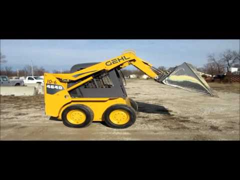 2006 Gehl 4640 skid steer for sale   sold at auction January 28, 2016