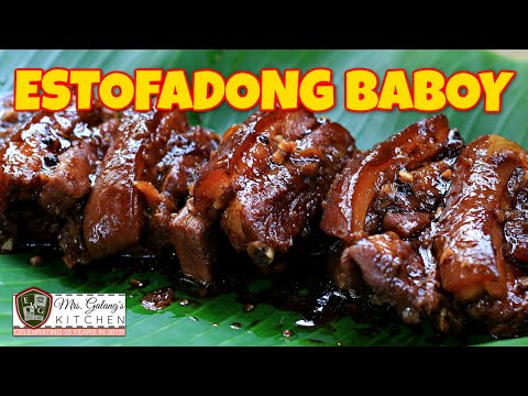 ESTOFADONG BABOY or PORK ESTOFADO (Mrs.Galang's Kitchen S9 Ep10)