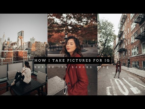 Weekly Vlog | How I Take Pictures For Instagram