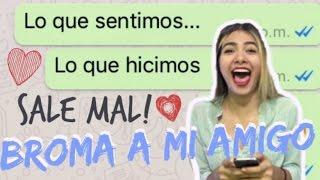 """BROMA a mi AMIGO con LETRA DE CANCION """"Otra vez"""" de J balvin - Madi Melendez"""
