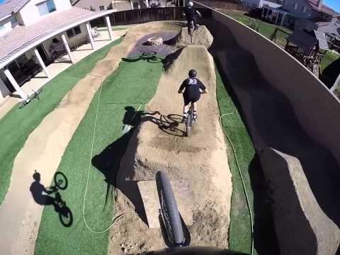 Backyard Pump Track/trails (POV)