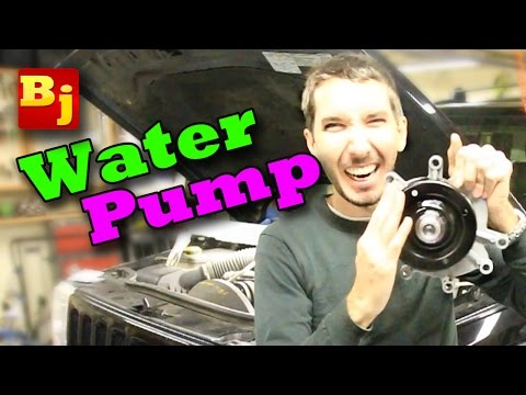 How To Change a Water Pump 3.7L V6