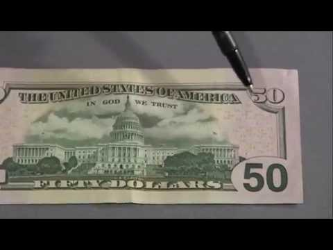 8 Ways to Spot a Fake New 50 Dollar Bill