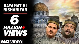 Official : Kayamat Ki Nishaniyan Full (HD) Video Song | T-Series Islamic Music | Taslim Aarif