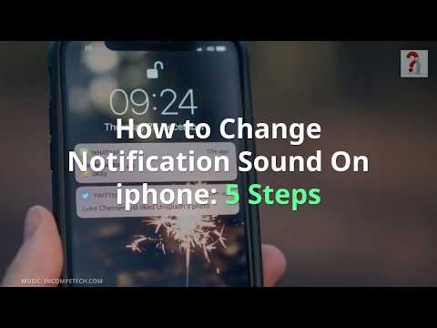 How to Change Notification Sound On iphone: 5 Steps