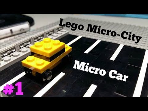 How to Build: Lego Miniature Car (Sedan)