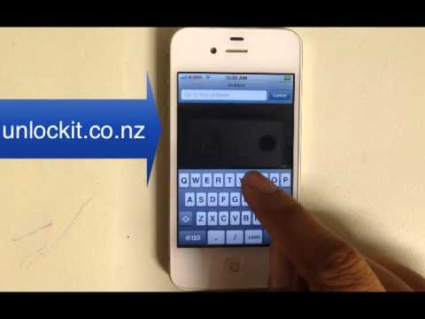 How to configure MMS (picture messaging) & data for Straight Talk iPhone 3 3GS 4 4S